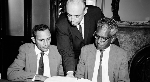 New members of the Aborigines Welfare Board in 1964