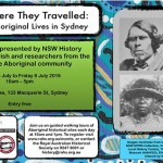 This is where they travelled: Historical Aboriginal Lives in Sydney