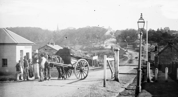 The Rushcutters Bay settlement