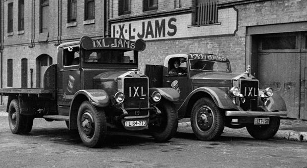 Henry Jones IXL jam factory